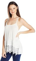Miss Me Women's Lace Trim Cami