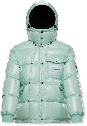 MONCLER GENIUS 7 Moncler Fragment Anthemy Logo-Appliqued Quilted Nylon Hooded Down Jacket