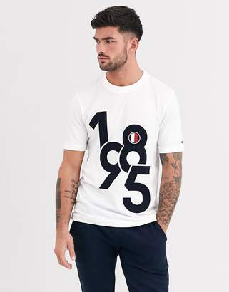 Tommy Hilfiger numeric t-shirt-White