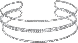 Lauren Conrad Textured Coil Cuff Bracelet