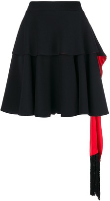 Alexander McQueen Ruffled Mini Skirt