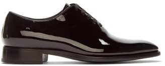 Givenchy Patent Leather Oxford Shoes - Mens - Black