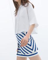 Zara Striped Skirt
