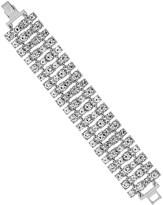 Lipsy Crystal Statement Bracelet