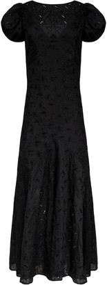 SIR the Label Elodie Panelled Gown