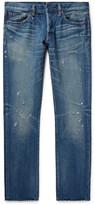 Simon Miller - M001 Slim-fit Distressed Denim Jeans