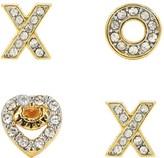 Juicy Couture Xo Stud Earring Set