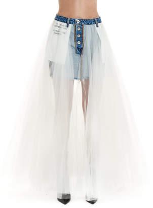Taverniti So Ben Unravel Project Skirt