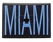 Salvatore Ferragamo Men's Firenze Logo Miami Leather Passport Holder