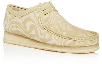 Clarks Men's Wu Wallabee Moc-Toe Leather Chukka Boots