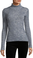 Willow & Clay Mock-Neck Textured-Knit Sweater