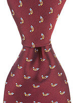Daniel Cremieux Big & Tall Ducks Traditional Silk Tie