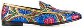 Gucci floral jacquard Jordaan loafers
