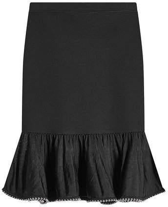 Alexander Wang Skirt with Embellished Trim