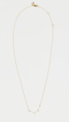 Meira T 14k Diamond Heart Necklace