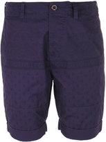Pretty Green Ridley Royal Purple Patterned Shorts