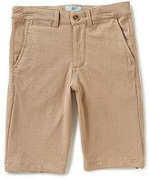 Class Club Big Boys 8-20 Flat Front Knit Shorts