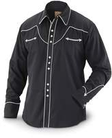 Scully Western Shirt Mens L/S Snap Solid 2XL P-620