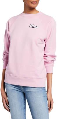 Bella Freud Girl Raglan Sweatshirt