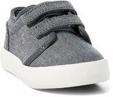 Ralph Lauren Toddler Ethan Chambray Ez Sneaker