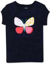 Carter's Little Kids T-Shirt, Little Girls Short-Sleeve Graphic Tee