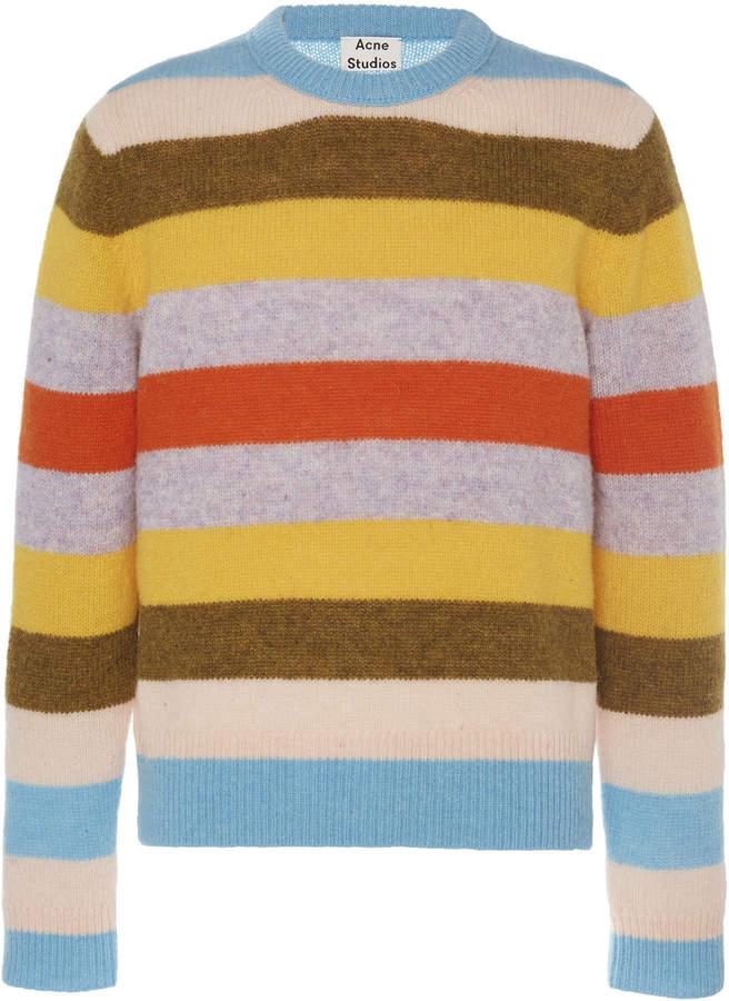 Acne Studios Kai Striped Wool Sweater