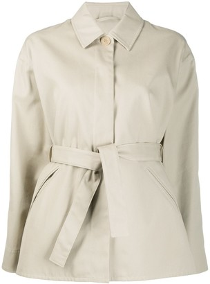 Filippa K Short Belted Mac Jacket