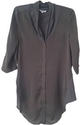 Helmut Lang Khaki Cotton Top for Women
