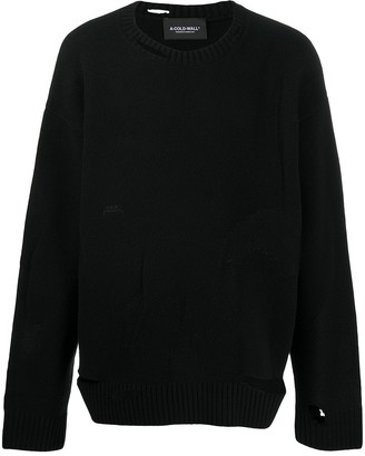 A-Cold-Wall* Oversized Distressed Jumper