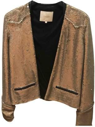 Maje \N Gold Glitter Jackets