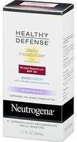 Neutrogena Healthy Defense Daily Moisturizer Sensitive Skin, SPF 50 Lotion, 1.70 oz ( Pack of 3)
