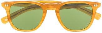 Garrett Leight Brooks square frame sunglasses