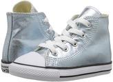 Converse Chuck Taylor® All Star® Metallic Canvas Hi (Infant/Toddler)