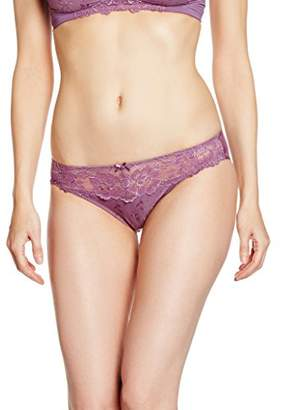 Iris & Lilly Women's Core Glamour Lace Trim Briefs Large