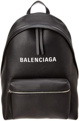 Balenciaga Everyday Large Leather Backpack