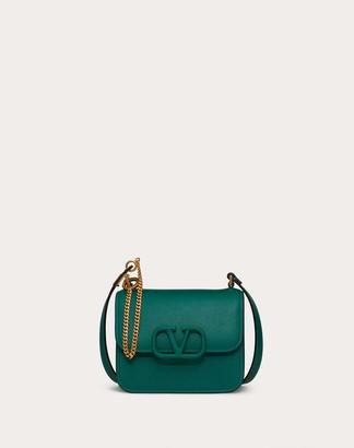 Valentino Small Vsling Grainy Calfskin Shoulder Bag Women Gerbera 100% Pelle Di Vitello - Bos Taurus OneSize