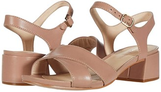 Clarks Sheer Strap (Praline Leather) Women's Shoes