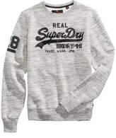 Superdry Men's Heathered Logo-Print Sweatshirt