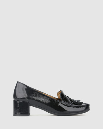 Airflex Clair Block Heel Loafers