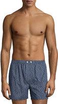 Derek Rose Deer Printed Boxer Shorts, Navy