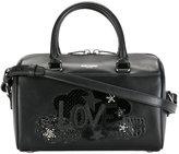 Saint Laurent love patch handbag - women - Calf Leather/PVC - One Size