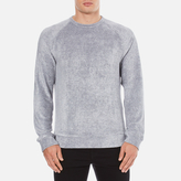 Ymc Terry Sweatshirt Blue