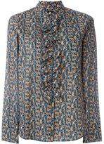 Paul Smith ruffle detail blouse