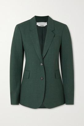 Gabriela Hearst Sophie Wool Blazer - Dark green
