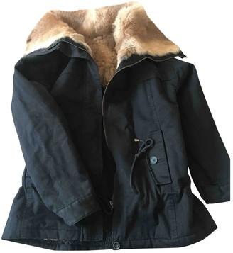 Bel Air Black Coat for Women