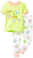 Petit Lem I'm Tres Tres Cool Pajama - 2-Piece Set (Baby Girls)