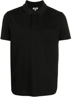 Kenzo Patch-Pocket Polo Shirt