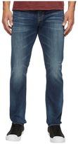 Jean Shop Mick Slim Straight in Work Worn Dark Selvedge Men's Jeans