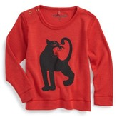 Mini Rodini Infant Boy's Panther Merino Wool T-Shirt