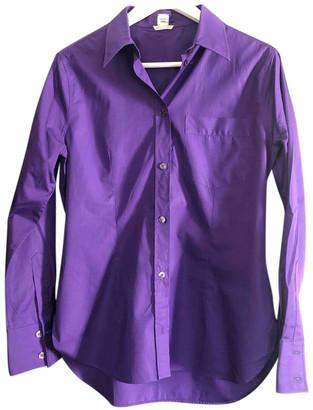 Hermes Purple Cotton Tops